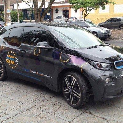 Adesivagem de BMW - Blue Sol