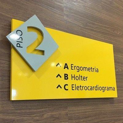 Placa de sinalização interna - ProImagem